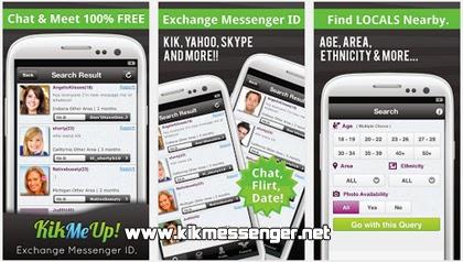 Kik Me Up para Android gratis