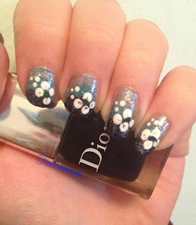 blue_ombre_flowery_nail_art