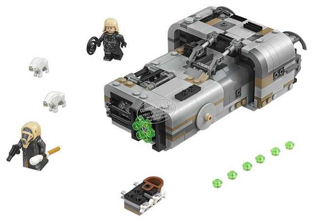 Lego Star Wars Han Solo - MoToch's Landspeeder (75210)