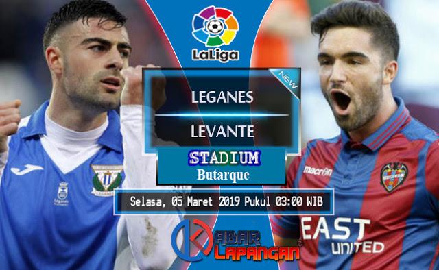 Prediksi Bola Leganes vs Levante Liga Spanyol