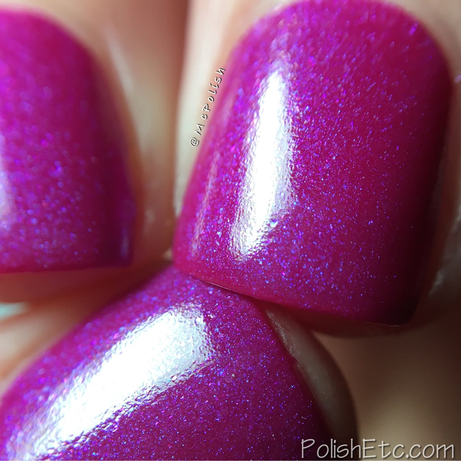 Lollipop Posse Lacquer - Kiki Vol II Collection - McPolish - I Hope You're Up, Girl
