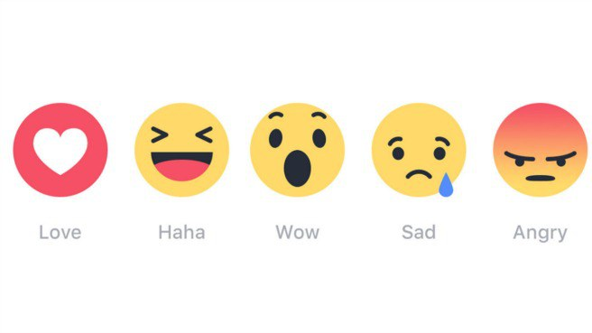 Facebook's New Emoting Emoji: Haha, Love, Angry, Sad, Wow Step 1