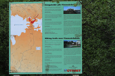Trailhead Map at Básar