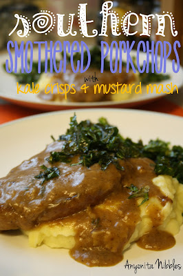 Southern Smothered Pork Chops from www.anyonita-nibbles.com