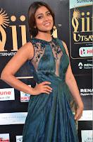 Shriya Saran having fun in a lovely fit gown at IIFA Utsavam Awards 2017  Day 2 at  19.JPG