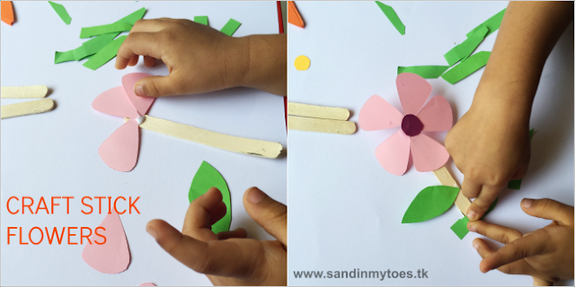 We loved making these Craft Stick Flowers!