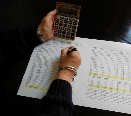 Calcular los gastos familiares para el nuevo año