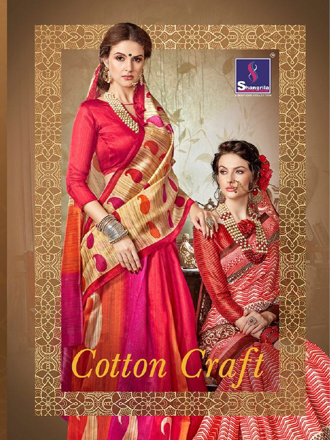 COTTON CRAFT VOL 2 – New Arrival Designer Cotton Silk Saree