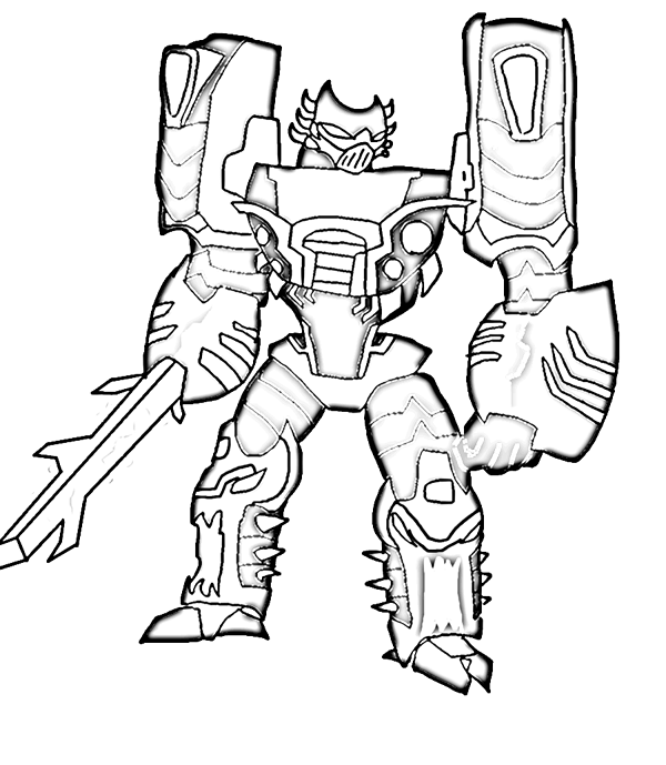 Desenhos Dos Transformers Para Colorir, Pintar, Imprimir