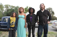 Ashleigh Murray, Rachel Crow, Lance Gray and David Sullivan in Deidra and Laney Rob a Train (1)