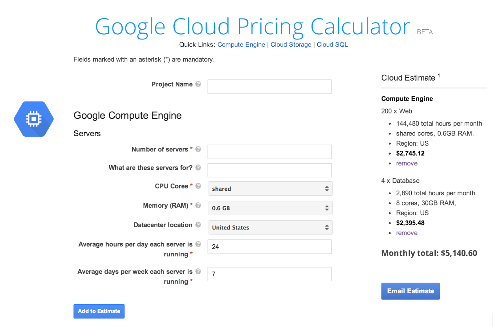 google cloud platform blog google cloud platform pricing calculator