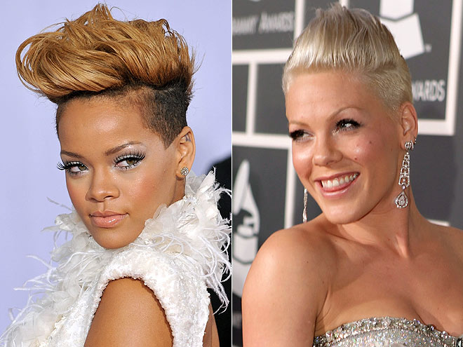 Hair Style Mohawk: The Pixie Revolution: Hot Or Not: The Mohawk & Fauxhawk On