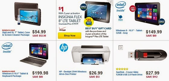 2014 Black Friday Deals on Tablets