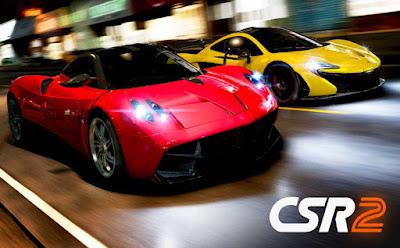 تحميل لعبة CSR Racing 2v1.14.1 مهكرة كاملة للاندرويد