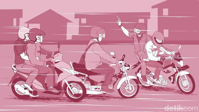 Polisi Tangkap 5 ABG Begal Bersenjata Tajam di Makassar