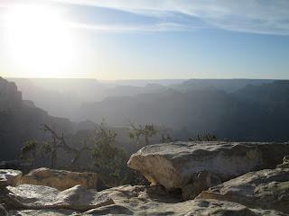 Misty Grand Canyon