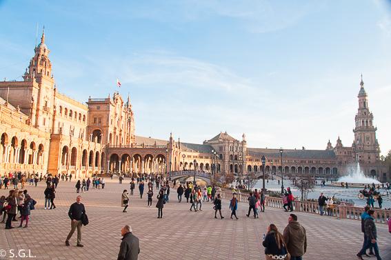 La plaza de España. 10 visitas imprescindibles de Sevilla