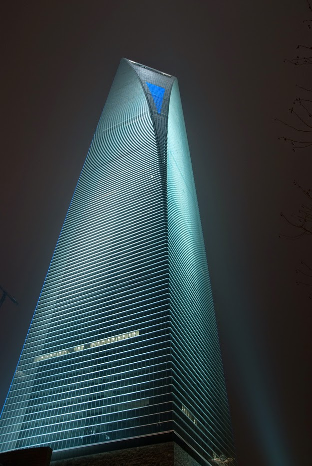 8. Shanghai World Financial Center - Shanghai, China - 12 Breathtaking Views From The World's Coolest Towers