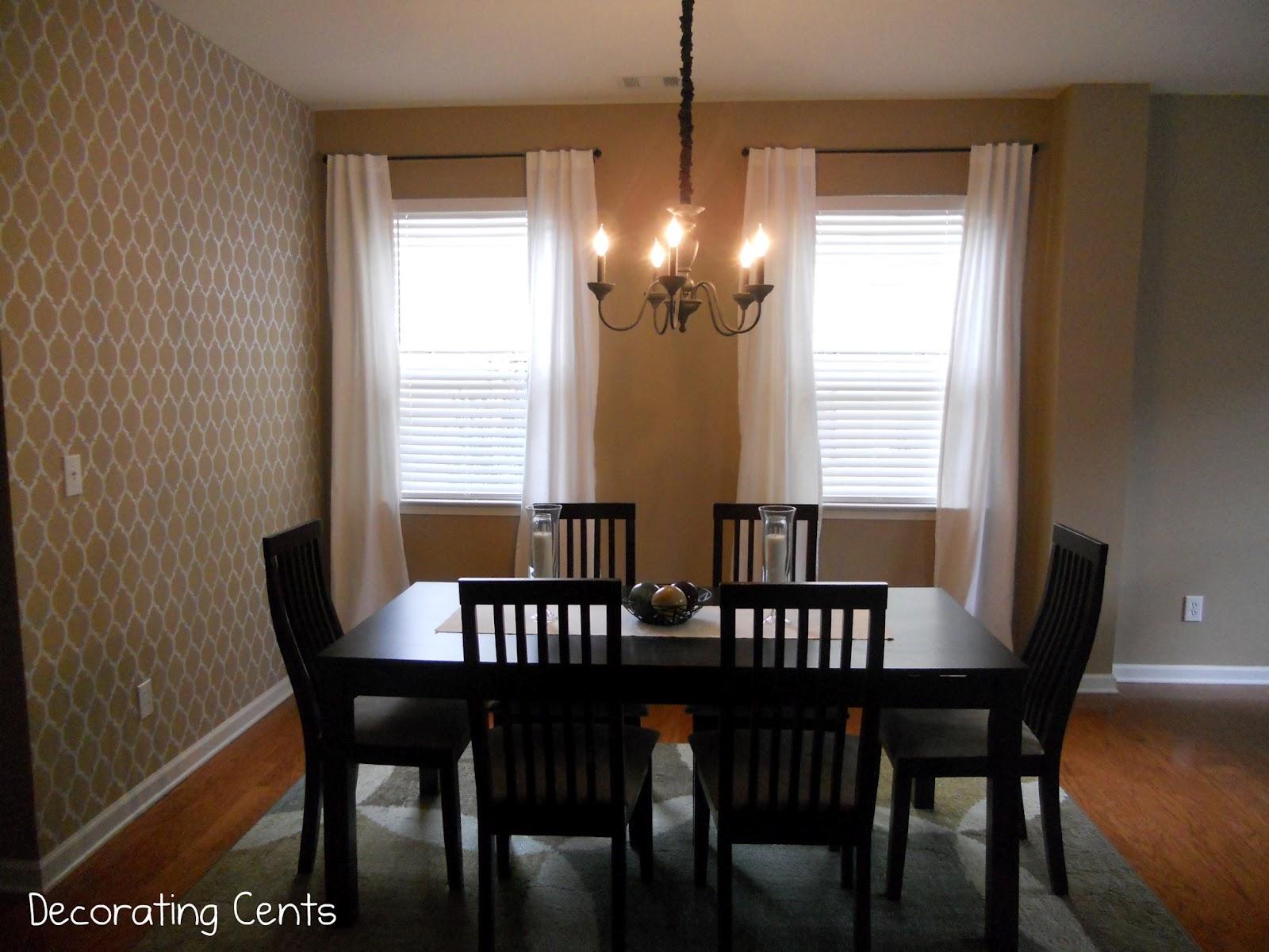 red dining room curtains home design. Black Bedroom Furniture Sets. Home Design Ideas