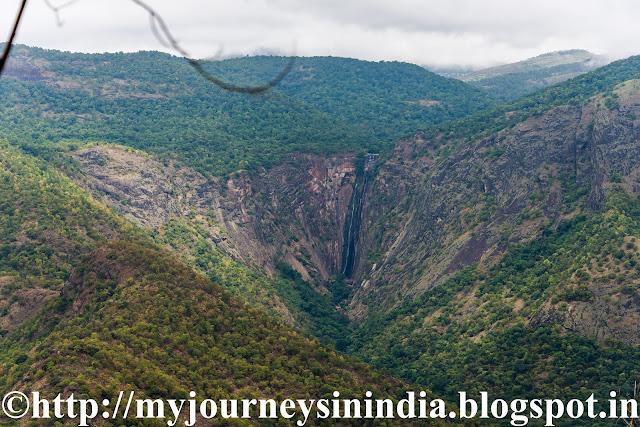 Thalaiyar Falls En route to Kodaikanal