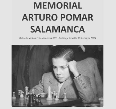 I Memorial Arturo Pomar Salamanca, Barcelona 2016