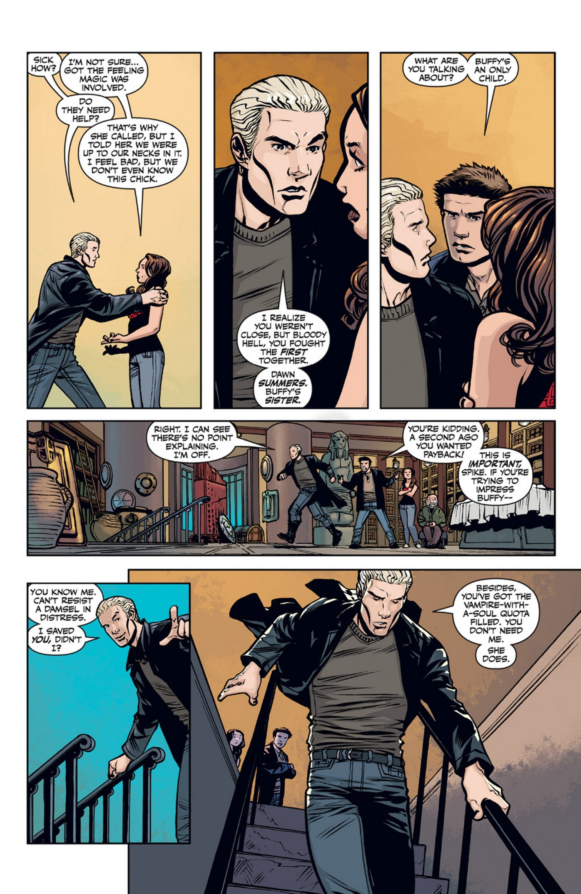 Read online Angel and Faith comic -  Issue #21 - 7