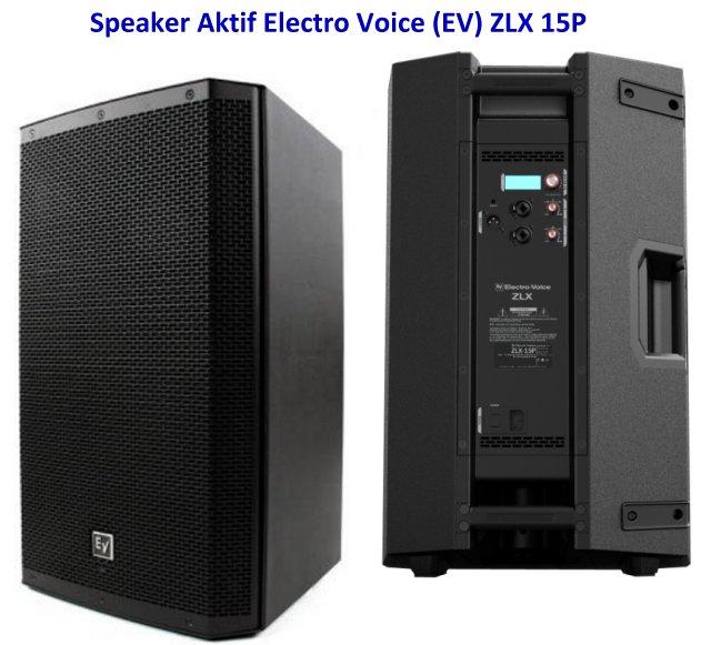 Harga Speaker EV ZLX 15P