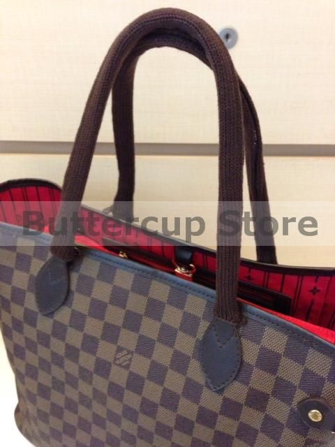 Slim Fit Brown Covers On Neverfull Mm