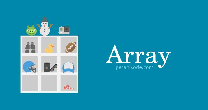 Cara menggunakan Array