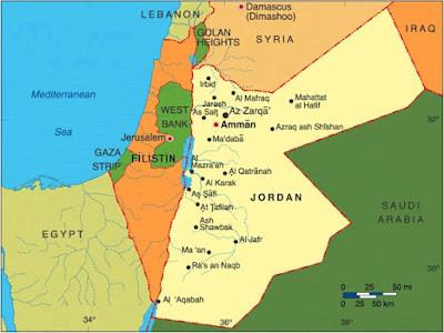 Gambar Peta Negeri Syam