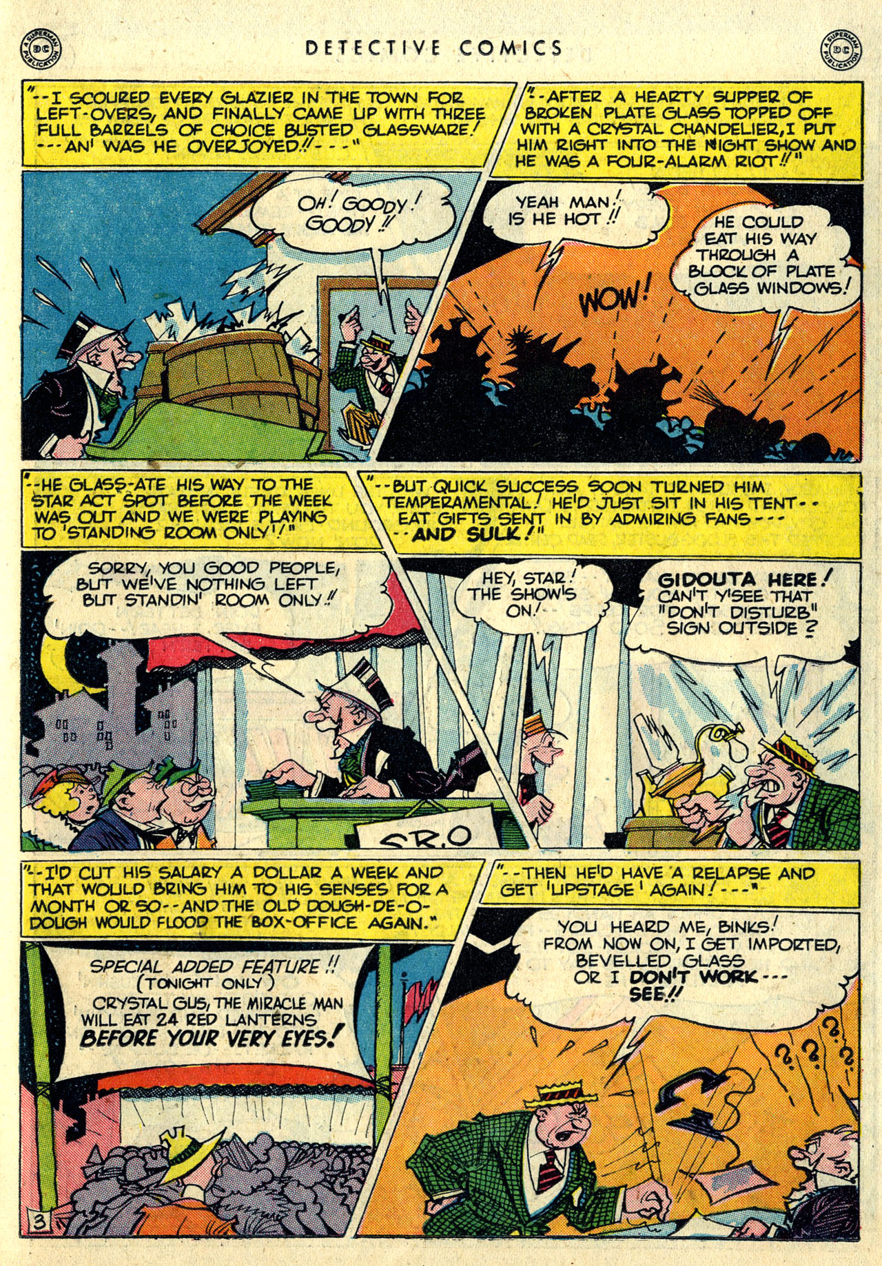 Read online Detective Comics (1937) comic -  Issue #121 - 35