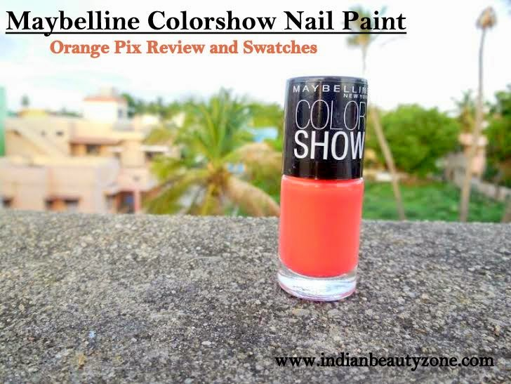 Best orange nail polish