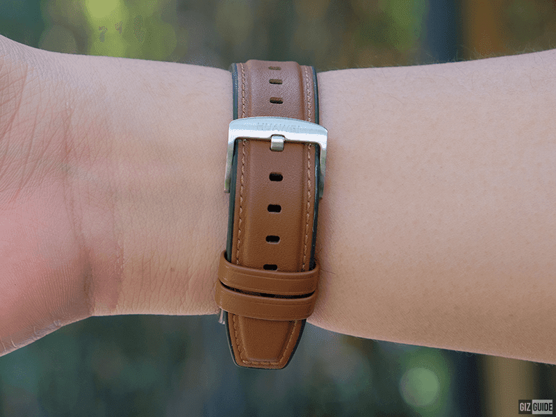 Nice leather strap design
