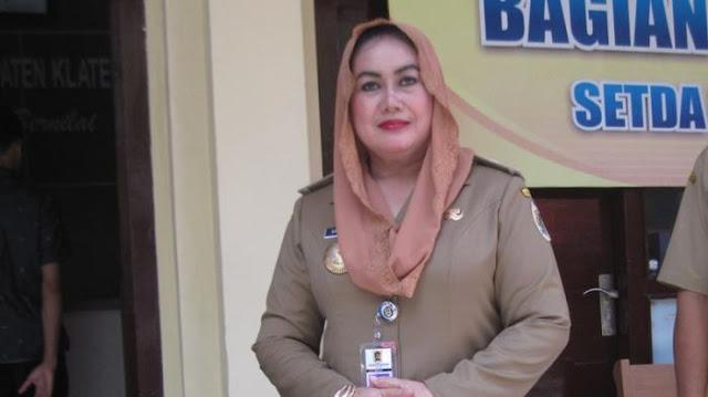 Ini Profil Bupati Klaten Sri Hartini, Kader PDIP yang 'Dibungkus' KPK