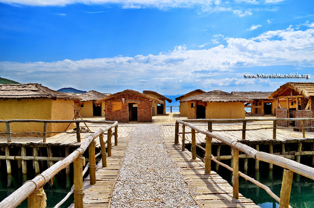 Bay of the Bones, Ohrid Lake, Macedonia