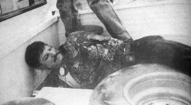 """Balacera y sangre el día en que cayó un verdadero Sicario """"El Ceja Güera"""""""