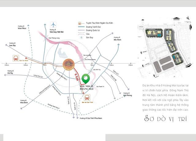 Vị trí đắc địa của dự án Gelexia Riverside Tam Trinh