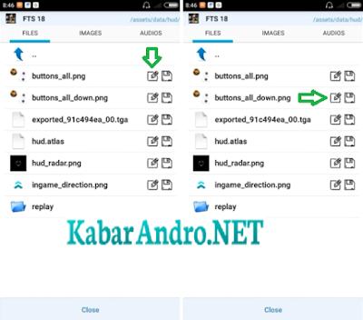 Cara Mengganti Buttons di FTS Android