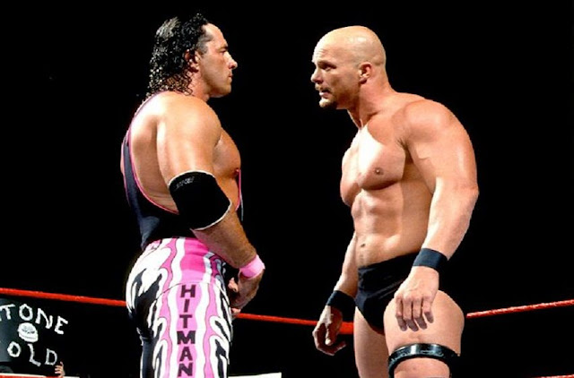 WWE - 28 Great WWF In Your House Matches - Steve Austin vs. Bret Hart
