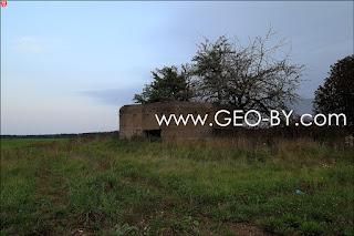 Седьмой найденный ДОТ у кладбища в Братково