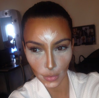 Contour and highlight like Kim Kardashian
