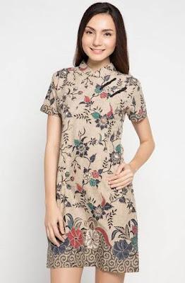Model Baju Batik Simpel Elegan