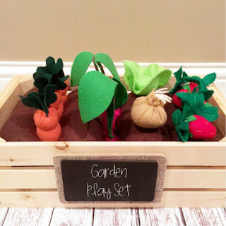 etsy garden play set