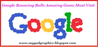 Google Bouncing Balls Amazing Game