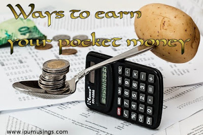 www.ipumusings.com How to earn your pocket money while in college?