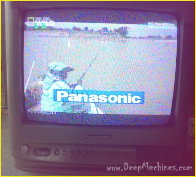 TV PANASONIC P-ten 14-Inch, Model: TC14P10SB - Perbaikan Kerusakan Standby dan Garis di Tengah Layar