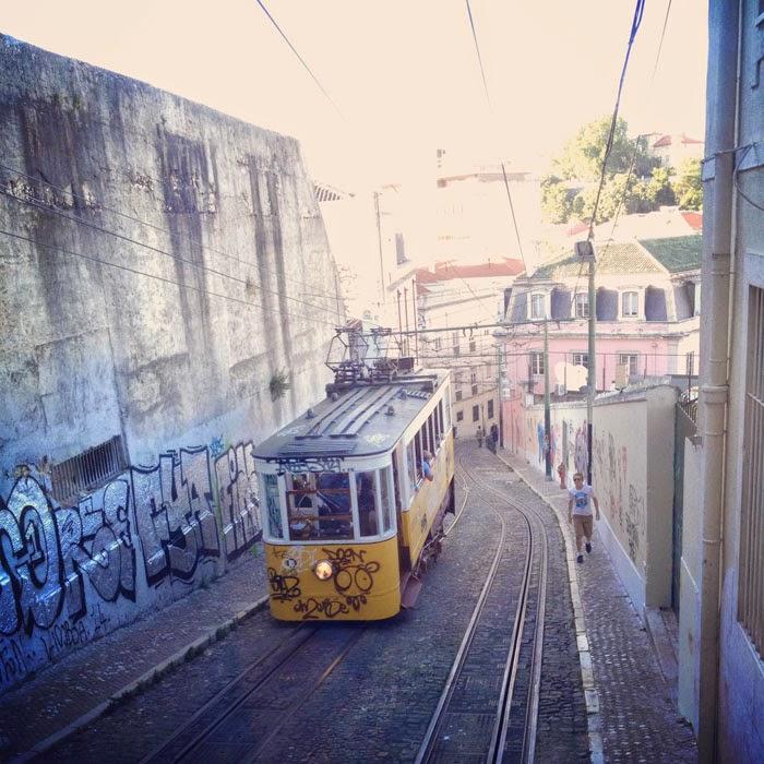 リスボン 路面電車