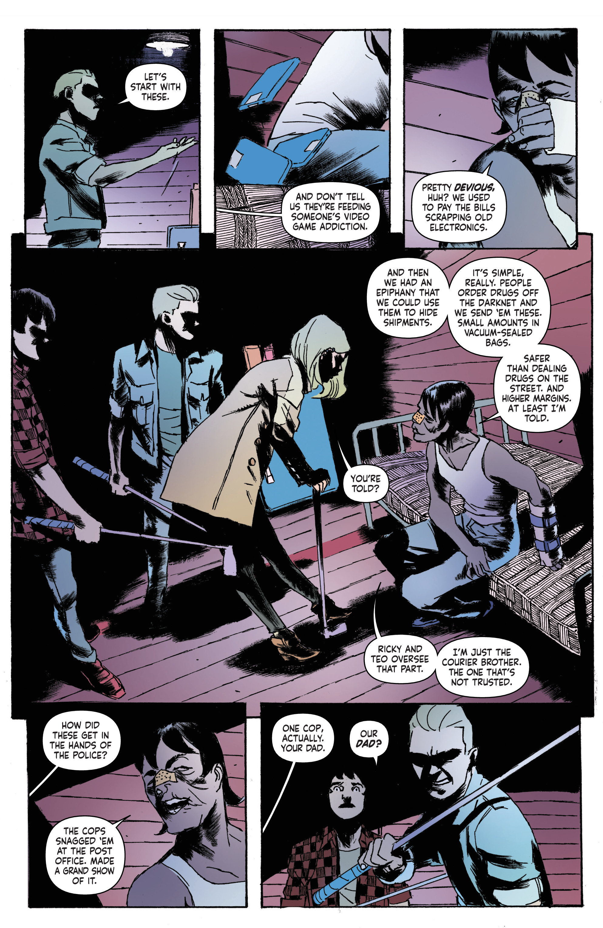 Read online Nancy Drew And The Hardy Boys: The Big Lie comic -  Issue #4 - 7
