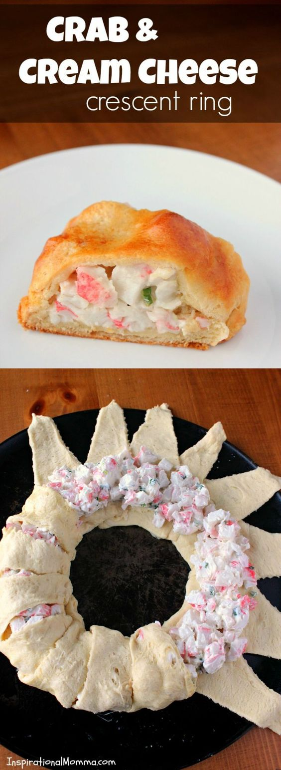 ★★★★☆ 7561 ratings | Crab & Cream Cheese Crescent Ring #HEALTHYFOOD #EASYRECIPES #DINNER #LAUCH #DELICIOUS #EASY #HOLIDAYS #RECIPE #Crab #Cream #Cheese #Crescent #Ring