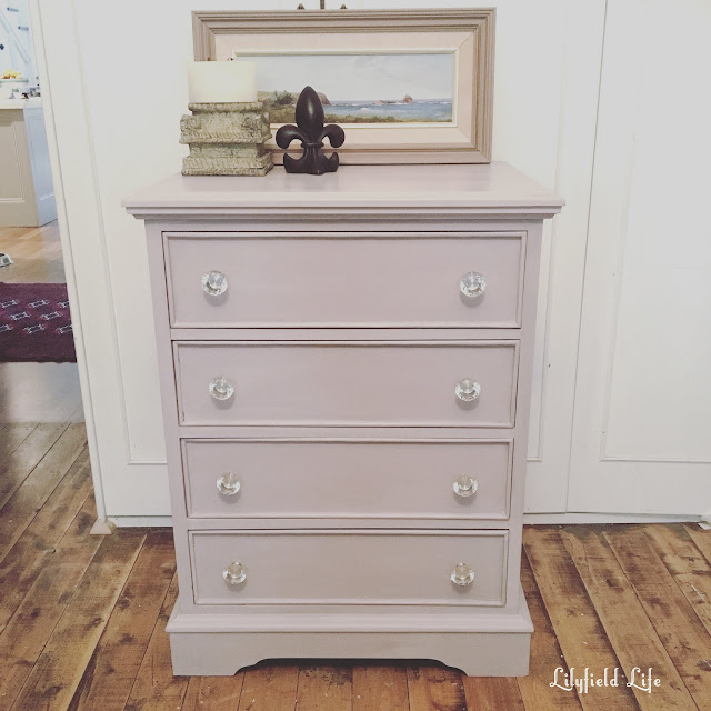 ASCP Paloma on chest of drawers by Lilyfield Life